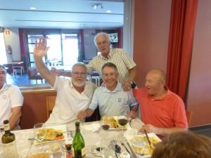 Golfistas del Encuentro Vasco-Galaico