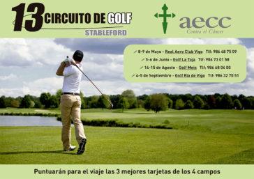 La AECC Asociación Española Contra el Cancer organiza su 13 circuito de golfAE