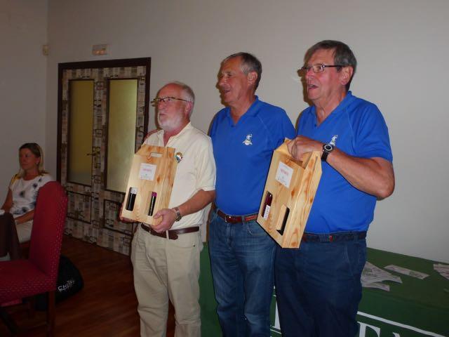 Jose L. Peón y Juan  ganadores