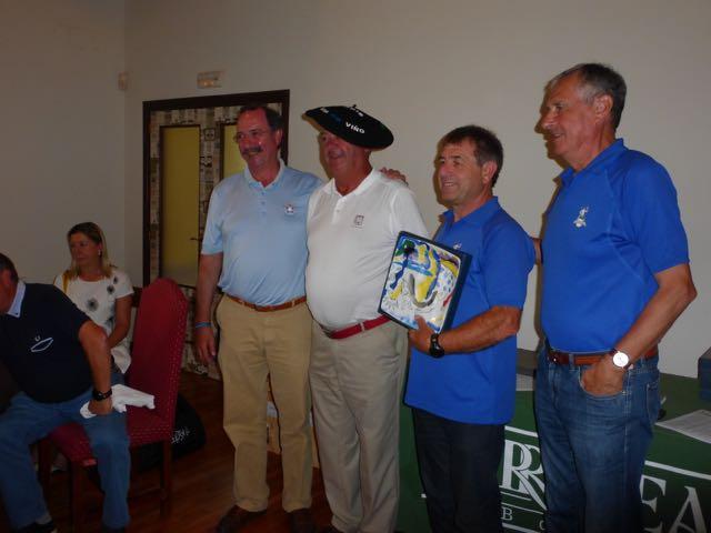 Jose Lojo Alcalde, ganador en parejas