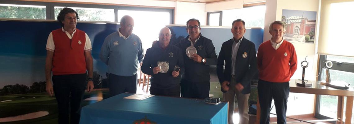 FERNANDO FELIPE RAMOS Y JULIO CARRIL CAMPEONES DE  GALICIA EN 3ª CATEGORIA