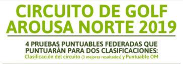 Circuito de Golf Arousa Norte 2019