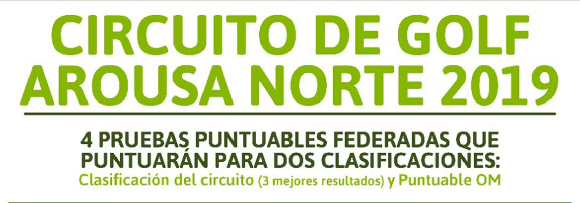 Circuito de Golf Arousa Norte 2019